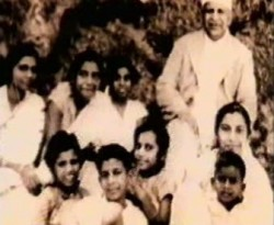 Shri Mataji with her family
