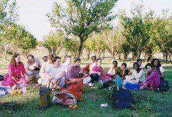 A Picnic with Musicians in Nagpur, India